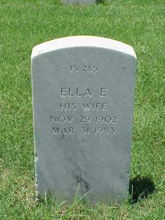 JONES, ELLA E - Pulaski County, Arkansas | ELLA E JONES - Arkansas Gravestone Photos