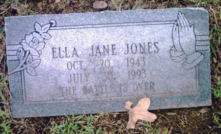 JONES, ELLA JANE - Pulaski County, Arkansas | ELLA JANE JONES - Arkansas Gravestone Photos
