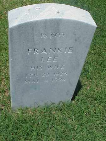 JONES, FRANKIE LEE - Pulaski County, Arkansas | FRANKIE LEE JONES - Arkansas Gravestone Photos