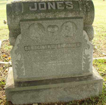 JONES, GEORGE EDWARD - Pulaski County, Arkansas | GEORGE EDWARD JONES - Arkansas Gravestone Photos
