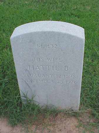 JONES, HATTIE B - Pulaski County, Arkansas | HATTIE B JONES - Arkansas Gravestone Photos
