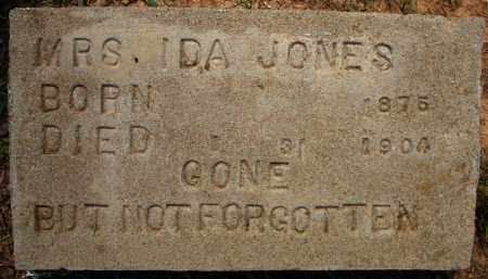 JONES, IDA - Pulaski County, Arkansas | IDA JONES - Arkansas Gravestone Photos