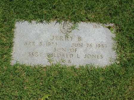 JONES, JERRY B - Pulaski County, Arkansas | JERRY B JONES - Arkansas Gravestone Photos