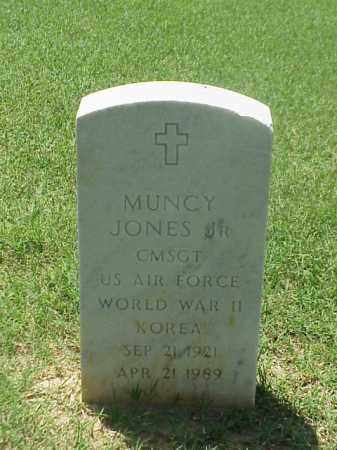 JONES, JR (VETERAN 2 WARS), MUNCY - Pulaski County, Arkansas | MUNCY JONES, JR (VETERAN 2 WARS) - Arkansas Gravestone Photos