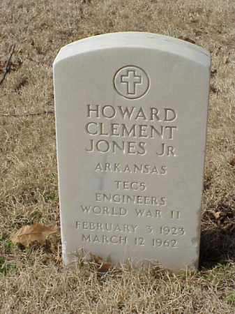 JONES, JR (VETERAN WWII), HOWARD CLEMENT - Pulaski County, Arkansas | HOWARD CLEMENT JONES, JR (VETERAN WWII) - Arkansas Gravestone Photos