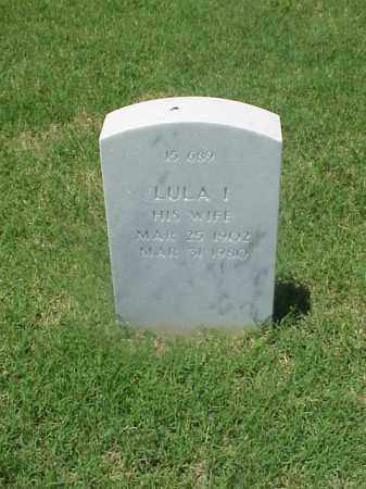 JONES, LULA I. - Pulaski County, Arkansas | LULA I. JONES - Arkansas Gravestone Photos