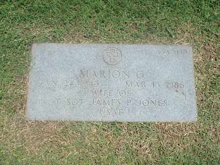 JONES, MARION G - Pulaski County, Arkansas | MARION G JONES - Arkansas Gravestone Photos