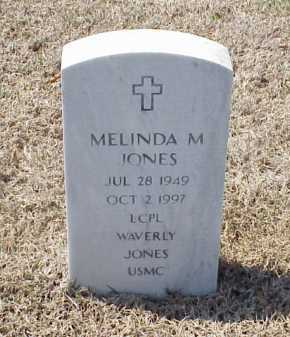 JONES, MELINDA M - Pulaski County, Arkansas | MELINDA M JONES - Arkansas Gravestone Photos