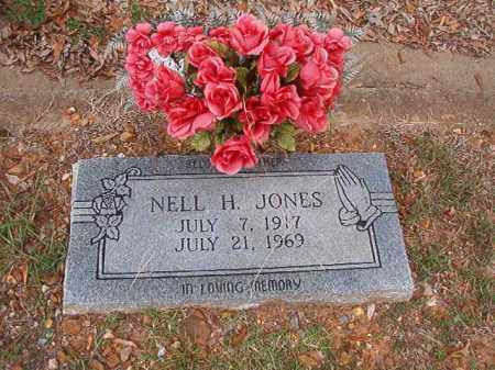 JONES, NELL H - Pulaski County, Arkansas | NELL H JONES - Arkansas Gravestone Photos