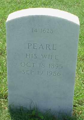 JONES, PEARL - Pulaski County, Arkansas | PEARL JONES - Arkansas Gravestone Photos