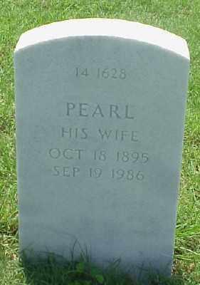 JONES, PEARL - Pulaski County, Arkansas | PEARL JONES - Arkansas Gravestone Photos