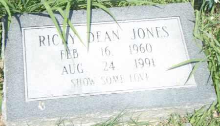 JONES, RICKY  DEAN - Pulaski County, Arkansas | RICKY  DEAN JONES - Arkansas Gravestone Photos