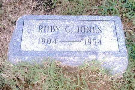 JONES, RUBY C. - Pulaski County, Arkansas | RUBY C. JONES - Arkansas Gravestone Photos