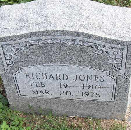 JONES, RICHARD - Pulaski County, Arkansas | RICHARD JONES - Arkansas Gravestone Photos