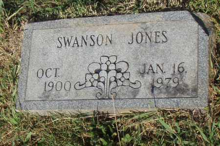 JONES, SWANSON - Pulaski County, Arkansas | SWANSON JONES - Arkansas Gravestone Photos
