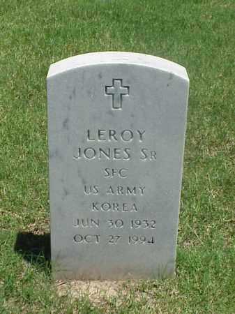 JONES, SR (VETERAN KOR), LEROY - Pulaski County, Arkansas | LEROY JONES, SR (VETERAN KOR) - Arkansas Gravestone Photos