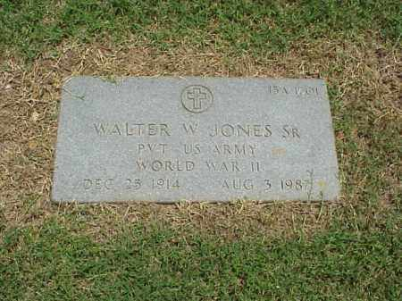 JONES, SR (VETERAN WWII), WALTER W - Pulaski County, Arkansas | WALTER W JONES, SR (VETERAN WWII) - Arkansas Gravestone Photos
