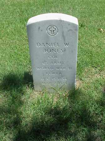 JONES (VETERAN 2 WARS), DANIEL W - Pulaski County, Arkansas | DANIEL W JONES (VETERAN 2 WARS) - Arkansas Gravestone Photos