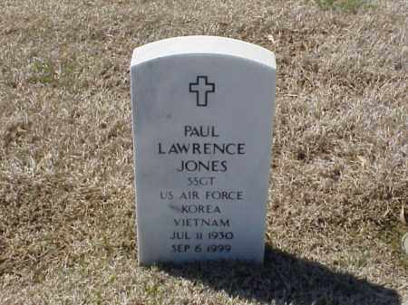 JONES (VETERAN 2 WARS), PAUL LAWRENCE - Pulaski County, Arkansas | PAUL LAWRENCE JONES (VETERAN 2 WARS) - Arkansas Gravestone Photos