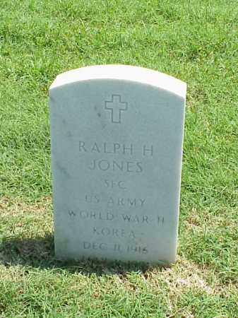 JONES (VETERAN 2 WARS), RALPH H - Pulaski County, Arkansas | RALPH H JONES (VETERAN 2 WARS) - Arkansas Gravestone Photos