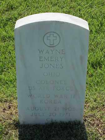 JONES (VETERAN 2 WARS), WAYNE EMERY - Pulaski County, Arkansas | WAYNE EMERY JONES (VETERAN 2 WARS) - Arkansas Gravestone Photos