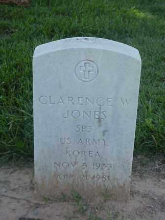 JONES (VETERAN KOR), CLARENCE W - Pulaski County, Arkansas | CLARENCE W JONES (VETERAN KOR) - Arkansas Gravestone Photos