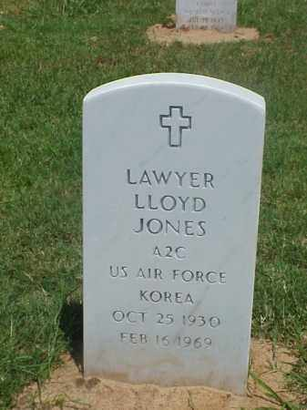 JONES (VETERAN KOR), LAWYER LLOYD - Pulaski County, Arkansas | LAWYER LLOYD JONES (VETERAN KOR) - Arkansas Gravestone Photos