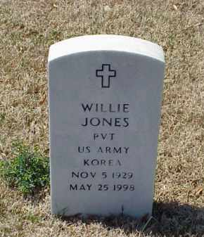 JONES (VETERAN KOR), WILLIE - Pulaski County, Arkansas | WILLIE JONES (VETERAN KOR) - Arkansas Gravestone Photos