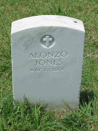 JONES (VETERAN UNION), ALONZO - Pulaski County, Arkansas | ALONZO JONES (VETERAN UNION) - Arkansas Gravestone Photos