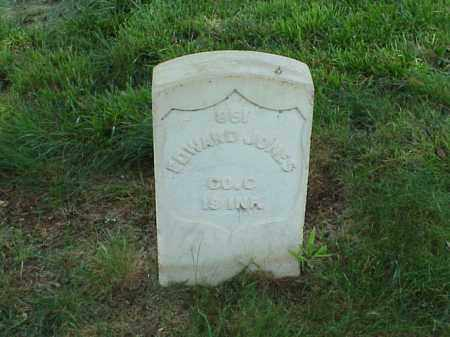 JONES (VETERAN UNION), EDWARD - Pulaski County, Arkansas | EDWARD JONES (VETERAN UNION) - Arkansas Gravestone Photos