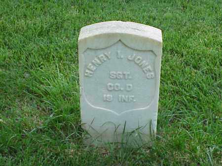 JONES (VETERAN UNION), HENRY I - Pulaski County, Arkansas | HENRY I JONES (VETERAN UNION) - Arkansas Gravestone Photos