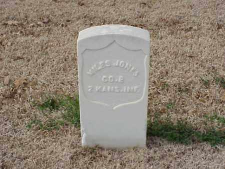 JONES (VETERAN UNION), MILES - Pulaski County, Arkansas | MILES JONES (VETERAN UNION) - Arkansas Gravestone Photos