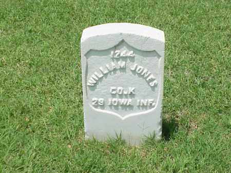JONES (VETERAN UNION), WILLIAM - Pulaski County, Arkansas | WILLIAM JONES (VETERAN UNION) - Arkansas Gravestone Photos