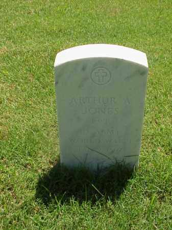 JONES (VETERAN WWI), ARTHUR A - Pulaski County, Arkansas | ARTHUR A JONES (VETERAN WWI) - Arkansas Gravestone Photos