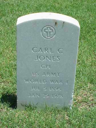 JONES (VETERAN WWI), CARL C - Pulaski County, Arkansas | CARL C JONES (VETERAN WWI) - Arkansas Gravestone Photos