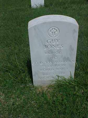 JONES (VETERAN WWI), GUY - Pulaski County, Arkansas | GUY JONES (VETERAN WWI) - Arkansas Gravestone Photos