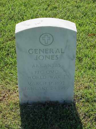 JONES (VETERAN WWI), GENERAL - Pulaski County, Arkansas | GENERAL JONES (VETERAN WWI) - Arkansas Gravestone Photos