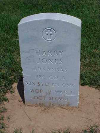 JONES (VETERAN WWI), HARRY - Pulaski County, Arkansas | HARRY JONES (VETERAN WWI) - Arkansas Gravestone Photos
