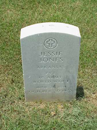 JONES (VETERAN WWI), JESSIE - Pulaski County, Arkansas | JESSIE JONES (VETERAN WWI) - Arkansas Gravestone Photos