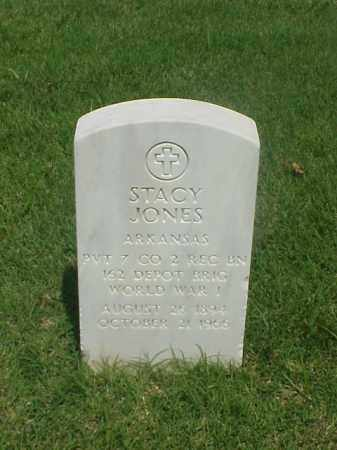 JONES (VETERAN WWI), STACY - Pulaski County, Arkansas | STACY JONES (VETERAN WWI) - Arkansas Gravestone Photos