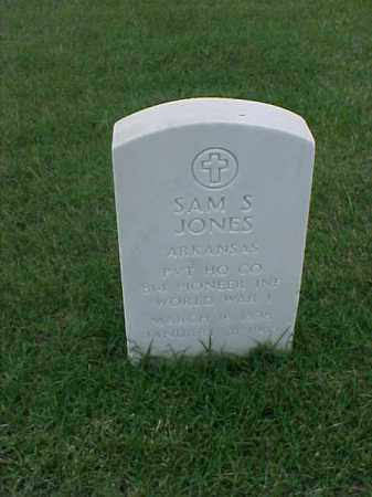 JONES (VETERAN WWI), SAM S - Pulaski County, Arkansas | SAM S JONES (VETERAN WWI) - Arkansas Gravestone Photos
