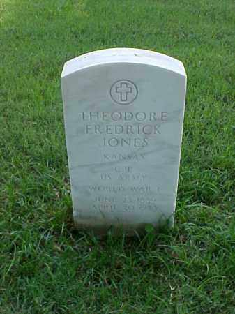 JONES (VETERAN WWI), THEODORE FREDRICK - Pulaski County, Arkansas | THEODORE FREDRICK JONES (VETERAN WWI) - Arkansas Gravestone Photos