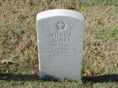 JONES (VETERAN WWI), WILBUR - Pulaski County, Arkansas | WILBUR JONES (VETERAN WWI) - Arkansas Gravestone Photos