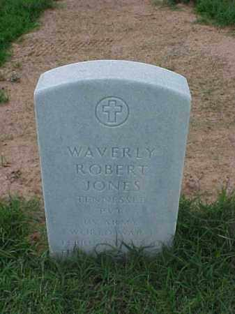 JONES (VETERAN WWI), WAVERLY ROBERT - Pulaski County, Arkansas | WAVERLY ROBERT JONES (VETERAN WWI) - Arkansas Gravestone Photos