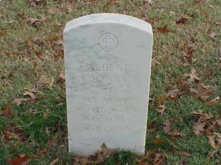 JONES (VETERAN WWII), ALBERT - Pulaski County, Arkansas | ALBERT JONES (VETERAN WWII) - Arkansas Gravestone Photos