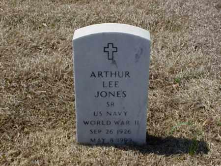 JONES (VETERAN WWII), ARTHUR LEE - Pulaski County, Arkansas | ARTHUR LEE JONES (VETERAN WWII) - Arkansas Gravestone Photos