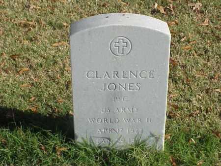 JONES (VETERAN WWII), CLARENCE - Pulaski County, Arkansas | CLARENCE JONES (VETERAN WWII) - Arkansas Gravestone Photos