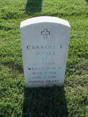 JONES (VETERAN WWII), CARROLL E - Pulaski County, Arkansas | CARROLL E JONES (VETERAN WWII) - Arkansas Gravestone Photos