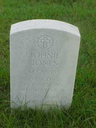 JONES (VETERAN WWII), JOHNIE - Pulaski County, Arkansas   JOHNIE JONES (VETERAN WWII) - Arkansas Gravestone Photos