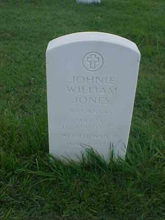 JONES (VETERAN WWII), JOHNIE WILLIAM - Pulaski County, Arkansas | JOHNIE WILLIAM JONES (VETERAN WWII) - Arkansas Gravestone Photos